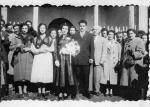48 boda de fidencio y amalia ante la iglesia